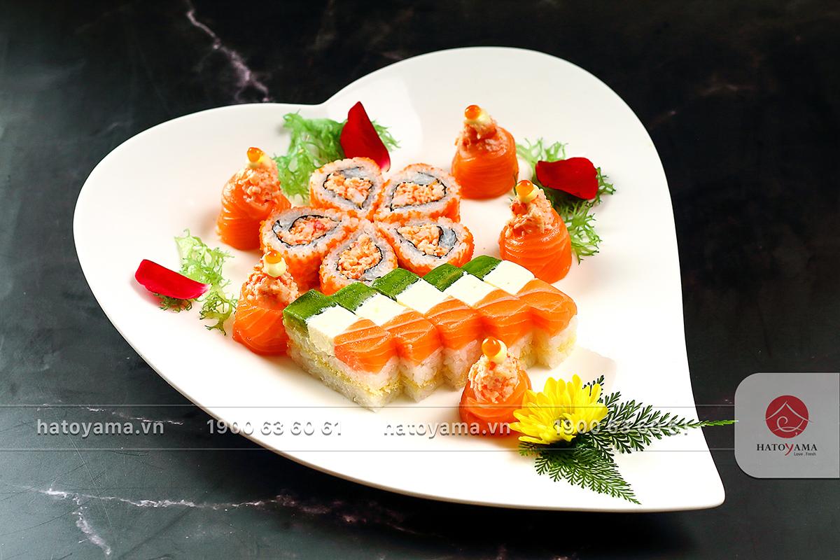 Sushi gia đình