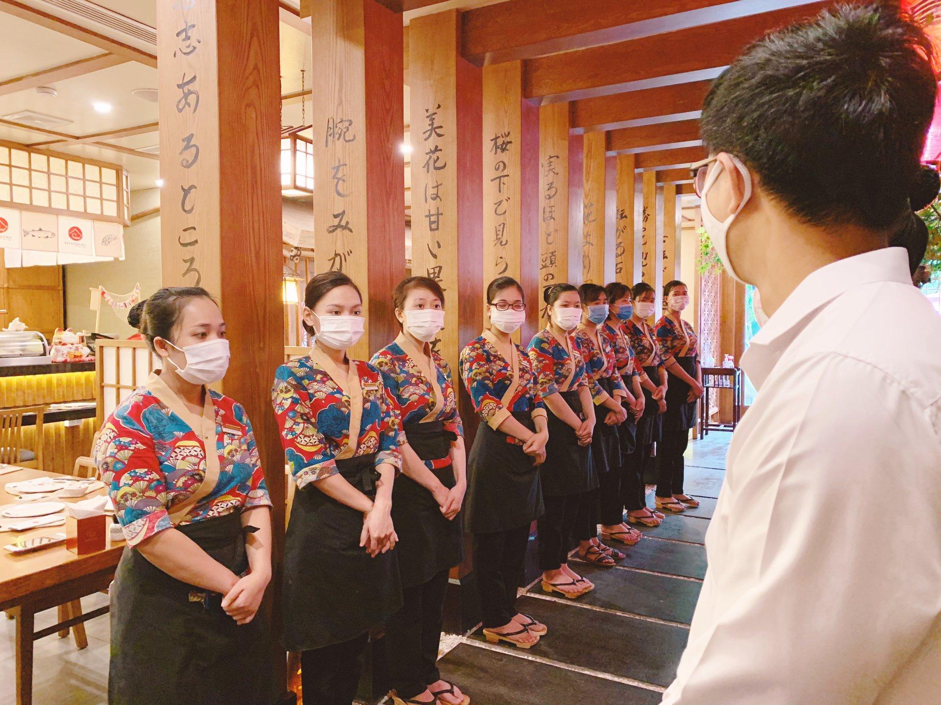 Hatoyama yêu cầu nhân viên nghiêm túc thực hiện quy định phòng chống dịch Covid-19