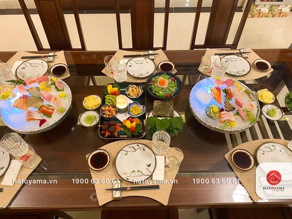 Tiệc tại gia - Chuẩn nhà hàng của Hatoyama